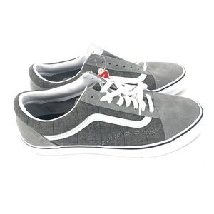 Vans Old Skool Low Gray Skate Mens 9.5 Women's 11
